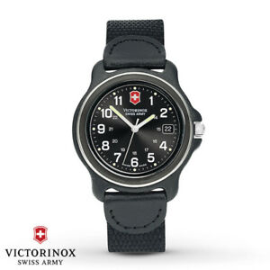 Swiss Army Victorinox 'Original' Collection Black Dial Watch
