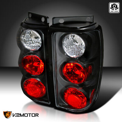 Fit 1995-1997 Ford Explorer SUV Black Replacement Tail Lights Brake Lamps Pair 1995 95 Ford Explorer Tail