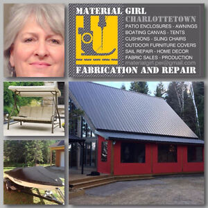 Fabrication and Repair  RV TENT industrial sewing