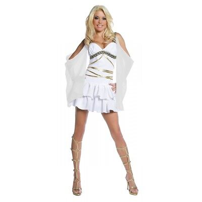 Greek Goddess Costume Adult Aphrodite Halloween Fancy Dress