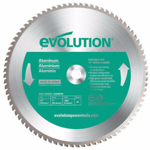 Evolution Saw Blades - Steel, Aluminum, Stainless, Masonry