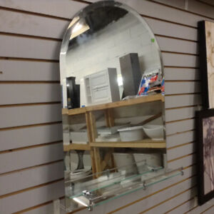Brand New Mirrors with Shelf Attachment