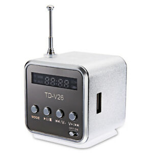 TD-V26 Digital FM Radio with Rechargeable Battery