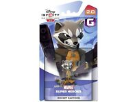 Disney Infinity 2.0 Character - Rocket Racoon Figure PS4/PS3/Wii U/Xbox One - New & Sealed