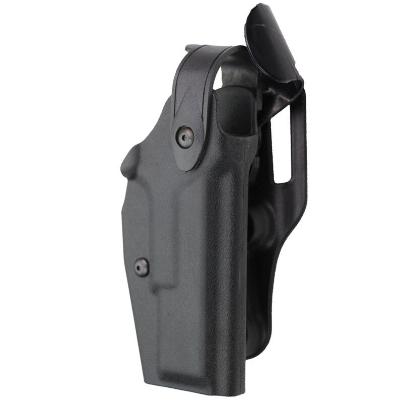 Military Tactic Automatic Locking Duty Flashlight Pistol Holster for Glock 17 22