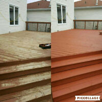 Fence and Deck Restoration - Wash, Sand, Stain & Seal