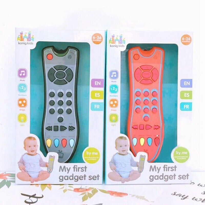 Baby Music Mobile Phone TV Remote Control Early Electric Numbers Learning Toy UK