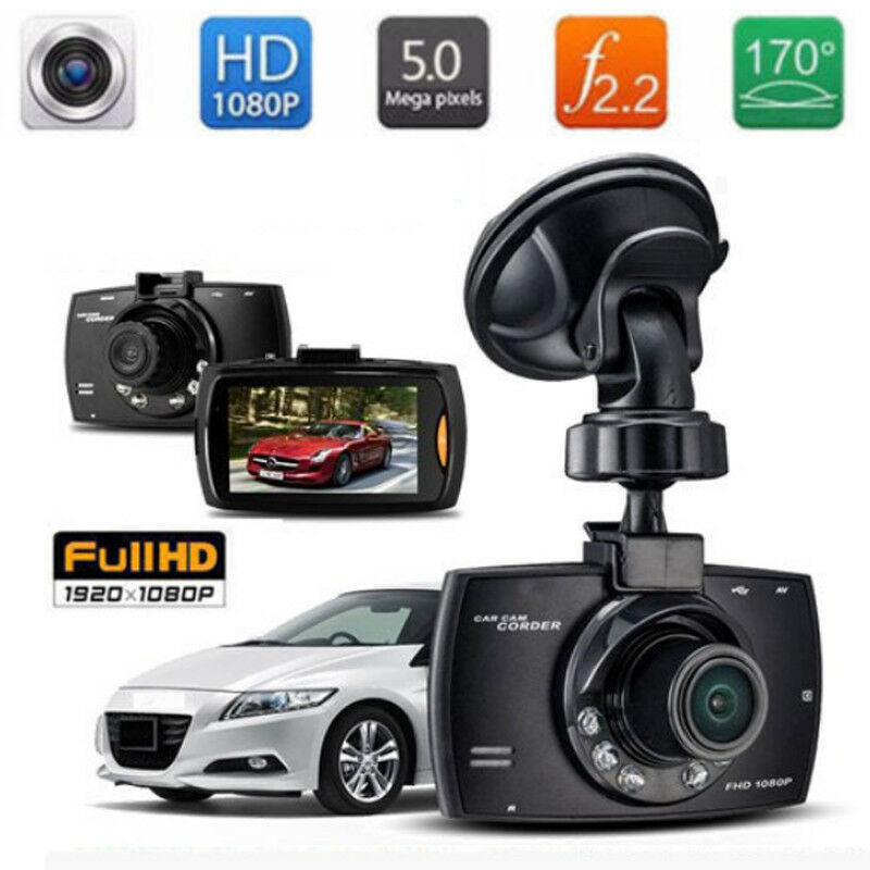 "3.0/""1080P Night Vision HD G-sensor Car DVR Vehicle Camera Video Recorder DashCam"