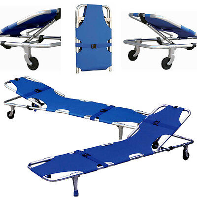 Buy Stretcher With Backrest Ambulance Emergency Foldable Medical Sp92 Durable