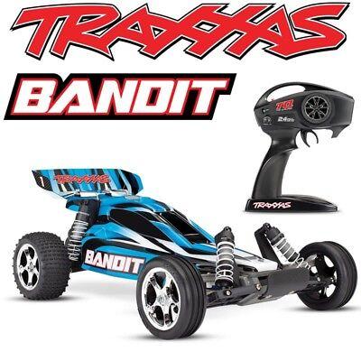 NEW Traxxas 24054-4 Bandit XL-5 2WD 1/10 Electric RC Buggy BLUE Body w/TQ