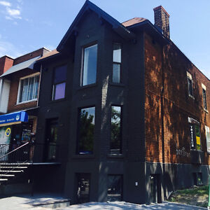 Store front in the heart of Monkland village