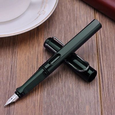 Jinhao 599-A Trim Fountain Pen Fine Nib Smooth Writing Ink Best Present Green (Best Writing Fountain Pen)