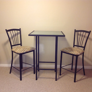 Amisco Bistro Table and Stools