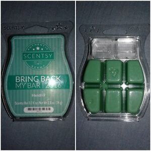 Scentsy Hendrix 6 cubes in clamshell