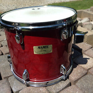 "MAPEX M SERIES 13"" / 12"" TOMS / CHERRY LACQUER"