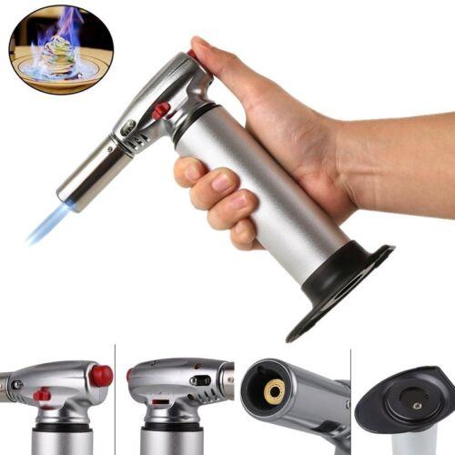 Flambierbrenner Flambiergerät Küchenbrenner Küche Creme Brulee 1300°C Silber