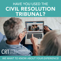 Have you used the Civil Resolution Tribunal?