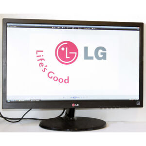 "LG 24EN43 24"" HDMI 1080 Full HD LED Monitor for Computers"