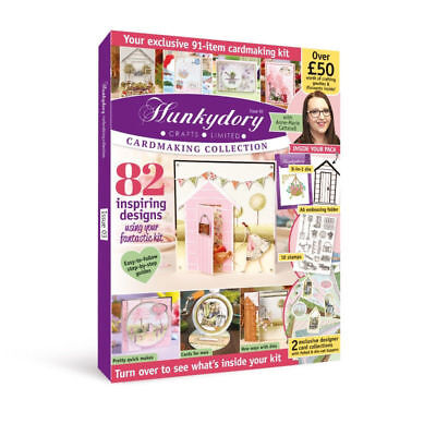Hunkydory Box Magazine - Issue 3 - Cardmaking Collection Over £50 of Goodies!
