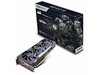 R9 390 8GB Sapphire Nitro OC Backplate edition Graphics card
