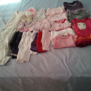 0-6 months baby girl clothes