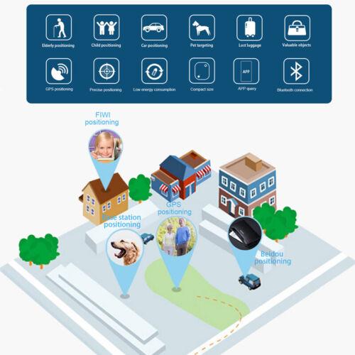 4X Bluetooth Tracker GPS Key Pet Kids Bag Wallet Finder Tracking Device Locator - $25.99
