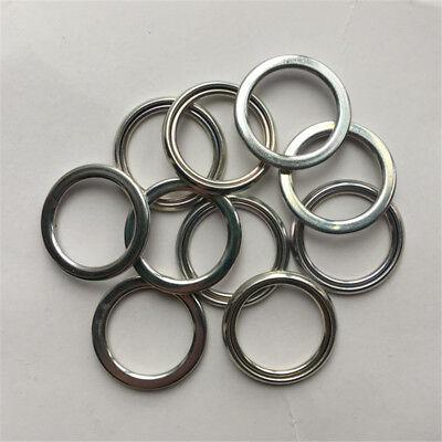 10PCS Drain Plug Gasket Metal Washer FitFor Toyota Lexus 12157-10010 90430-18134