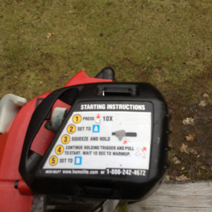 Homelite  Trimmer 26cc in excellent condition