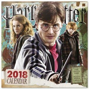 Harry Potter (Free Poster ) Official Calendar 2018