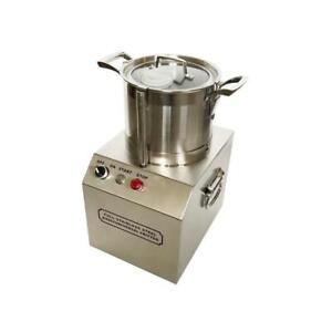 110V Meat Vegetable Prep Food chopper cutter Processor processing machine 4L (#020404)