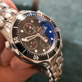 PRICE DROP Omega Seamaster Diver 300m Chronograph 41.5mm