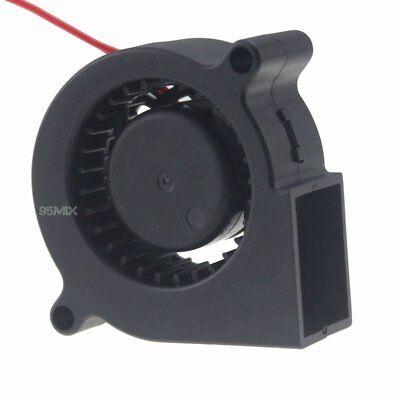24V Mini Blower Fan 50mm 50x50x20mm DC 0.1A Motor Brushless IDE Cooling Fan 5cm Brushless 24v Blower Motor
