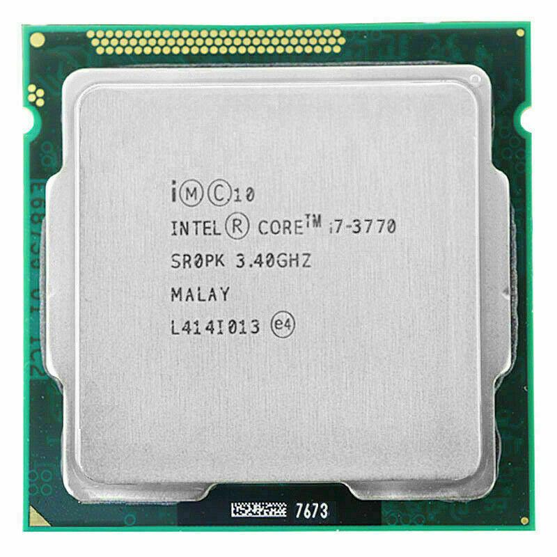 Intel Core i7-3770 3.40GHz 8MB Quad Core Socket LGA1155 CPU Processor SR0PK