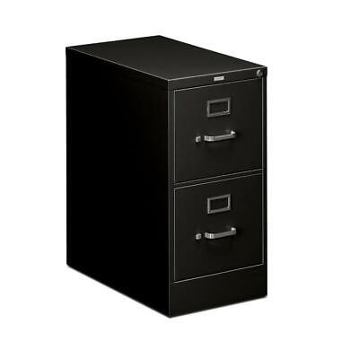 Hon 510 Series Vertical 2 Drawer Letter File Cabinet In Black
