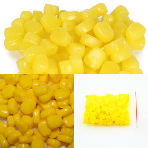 30PCS Corn Carp Pop Up Fishing Tackle Imitation Bait Carp Corn Floating Fishing