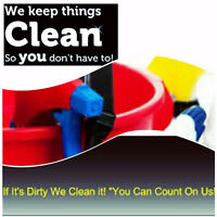 We clean it all for you! Call now foe a free estimate!