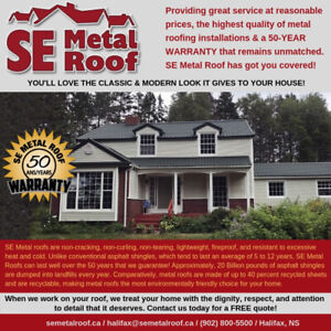SE METAL ROOF - Providing great service at reasonable prices