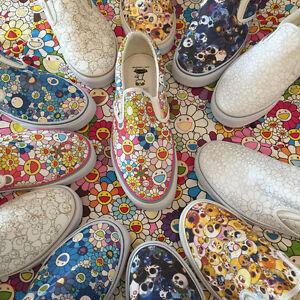 Vans Takashi Murakami Blue Skull Shoe Size