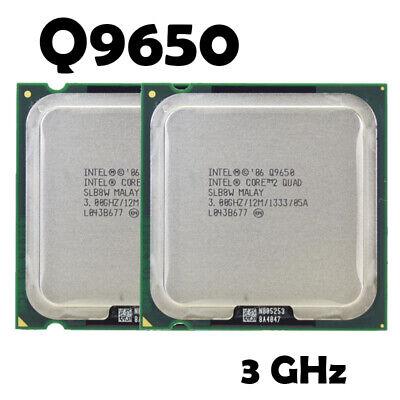 Usado, Intel Core 2 Quad Q9650 Processor 3.0GHz 12MB Cache 1333 Desktop LGA775 CPU 45nm comprar usado  Enviando para Brazil