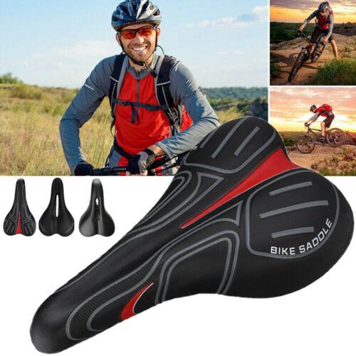 USA Bicycle Bike Cycle MTB Saddle Road Mountain Gel Pad Sports Soft Cushion Seat