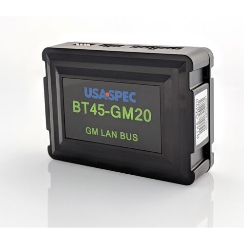 Usa Spec BT45-GM20 Bluetooth Audio Streaming & Call kit for GM LAN radios w/XM
