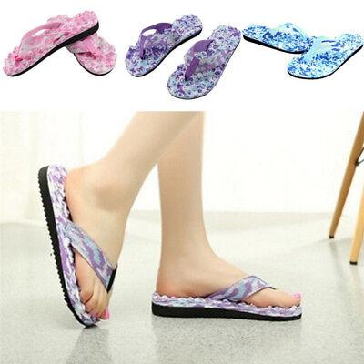 94314467b57 Women S Summer Beach Flip Flops Shoes Sandals Slipper Indoor Outdoor Flip  KWEC