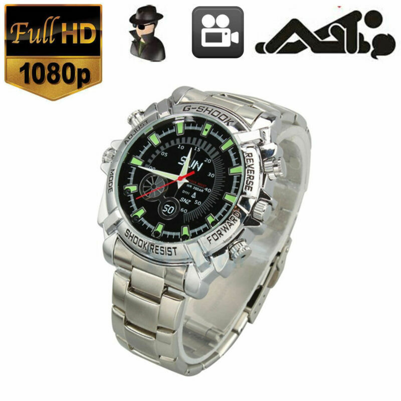Smart 1080P Hidden Spy Watch Camera DVR Video Camcorder Night Vision Waterproof