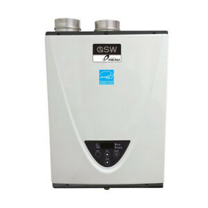 GSW N2073 Powered by TAKAGI Condensing Tankless Gas Water Heater