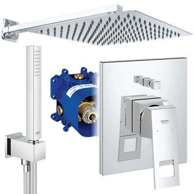 Unterputz Duschsystem mit Kopfbrause 300 x 300, Grohe Eurocube, Euphoria Cube online kaufen