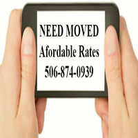 NEED MOVED? Affordable Rates.