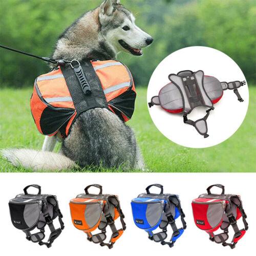 Hunderucksack Wetterfester Rucksack Satteltasche für Hunde Wandern Camping Reise