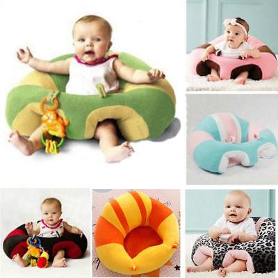 USA Kid Baby Support Seat Sit Soft Chair Cushion Sofa Plush Pillow Toy Bean Bag