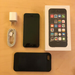 IPHONE 5S   SPACE GRAY   16GB   Fido   EXCELLENT CONDITION