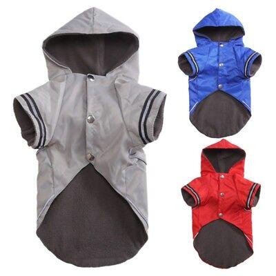 Wasserdicht Haustier Kleidung Hundejacke Wintermantel Mantel Regenmantel Weste
